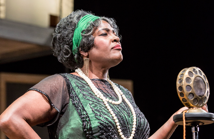 Sharon D Clarke in Ma Rainey's Black Bottom in 2016. Photo: Johan Persson