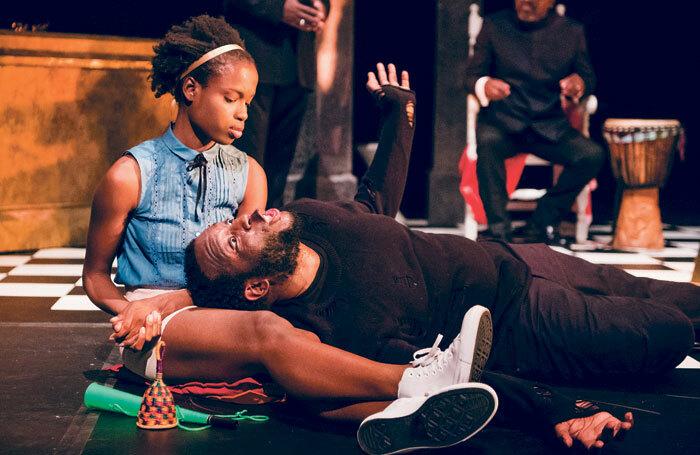 Black Theatre Live toured the UK's first all-black Hamlet. Photo: Tristram Kenton