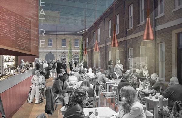 £31m London creative district plans get council green light