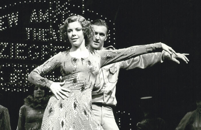 Clare Leach and Michael Howe in the original West End production of 42nd Street at the Theatre Royal, Drury Lane in 1984. Photo: Featureflash