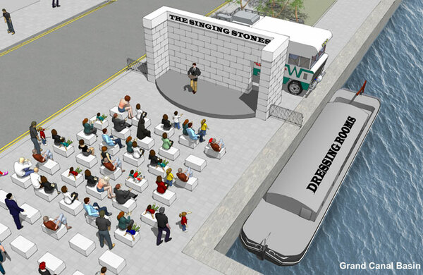 Plans for new open-air theatre in Dublin revealed
