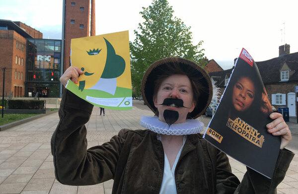 Anti-BP protestors target Royal Shakespeare Company again