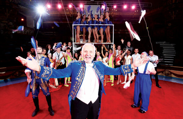 How Blackpool Tower Circus has stayed at the top for 100 years