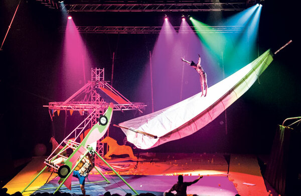 Circus Evolution: Propelling top acts around the world
