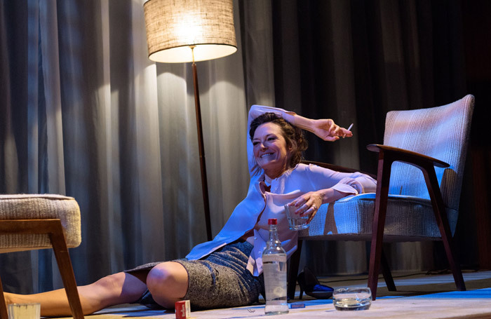 Catherine McCormack in The Graduate at West Yorkshire Playhouse, Leeds. Photo: Manuel Harlan