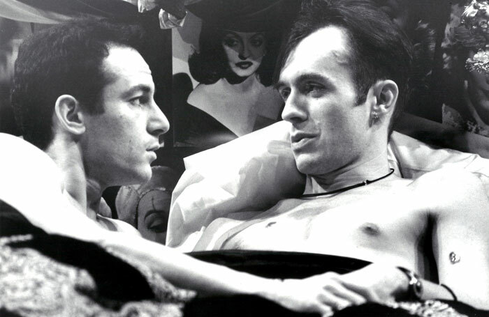 Jason Isaacs and Stephen Dillane in the National Theatre production of Angels in America in 1993. Photo: John Haynes