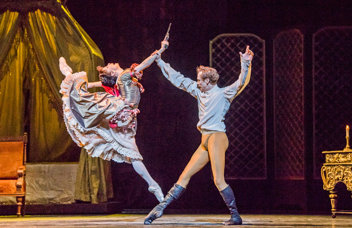 Natalia Osipova and Edward Watson in Mayerling at Royal Opera House, London. Photo: Tristram Kenton