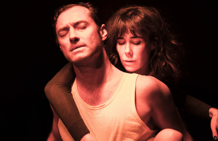 Jude Law and Halina Reijn in Obsession. Photo: Jan Versweyveld