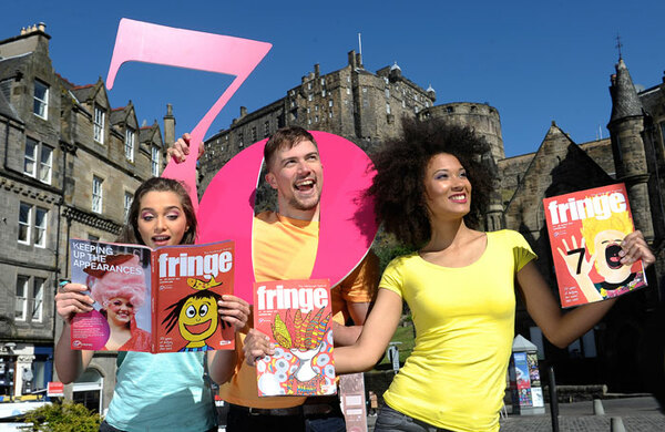 Theatre shows hit record numbers at 70th Edinburgh Fringe