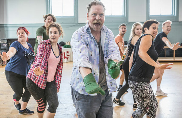 In pictures: The Wind in the Willows rehearsals at the London Palladium