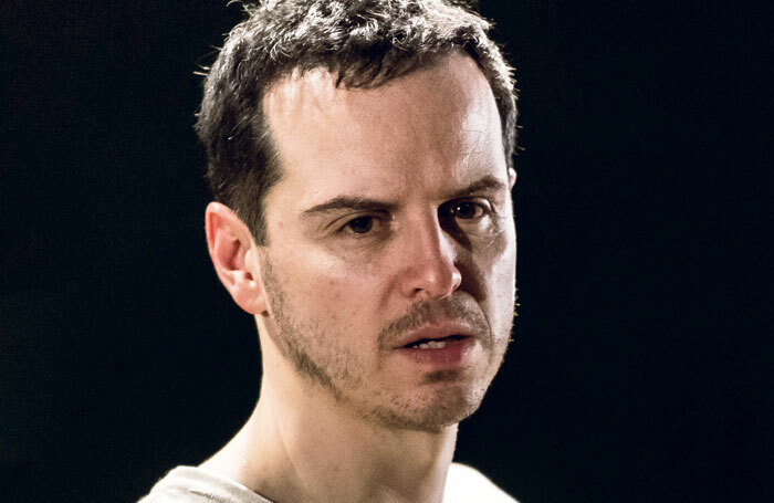 Andrew Scott in Hamlet. Photo: Manuel Harlan