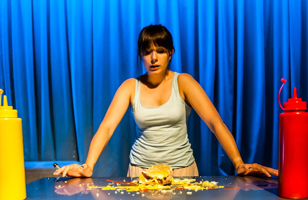 Katie Jackson: Fussy eaters, gravy and tinned peas: the perils of food on stage