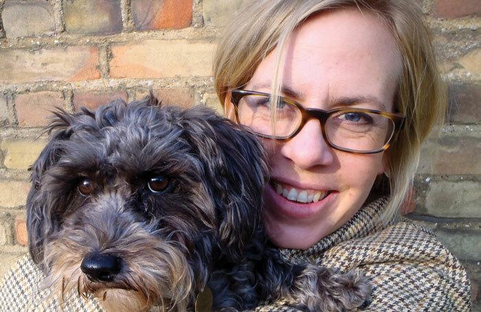 Vivienne Franzmann and her dog Mabel
