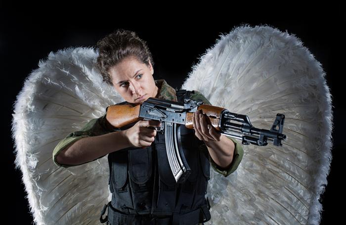 Avital Lvova in Angel, the 2016 Holden Street Theatres award winner. Photo: Rosalind Furlong