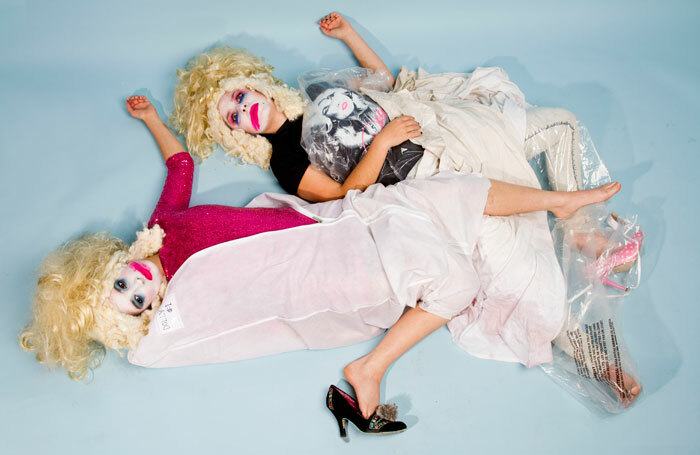 Rebecca Biscuit and Louise Mothersole in DollyWould