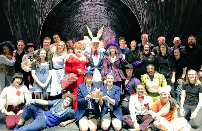 Cast of Wonderland the Musical. The show's remaining tour dates have been cancelled
