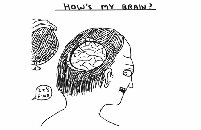 """The report provides """"comprehensive evidence"""" of the arts' benefit to health and well-being. Artwork: David Shrigley"""