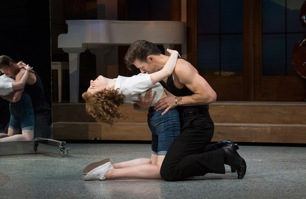Diary: Dirty Dancing disaster couple get triumphant lift