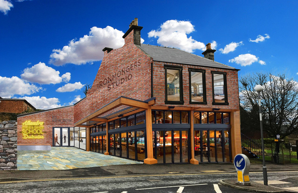 New performing arts centre and studio theatre planned for Dunfermline