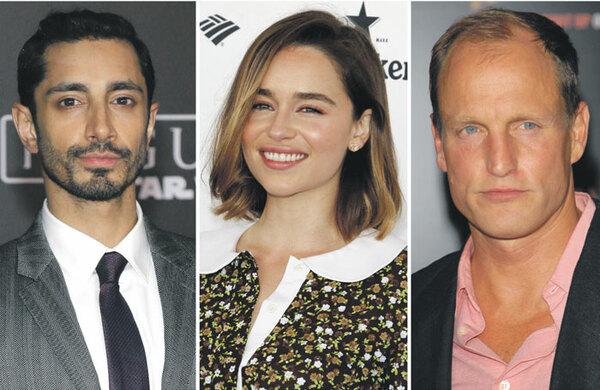 Riz Ahmed, Emilia Clarke and Woody Harrelson back free drama school audition scheme