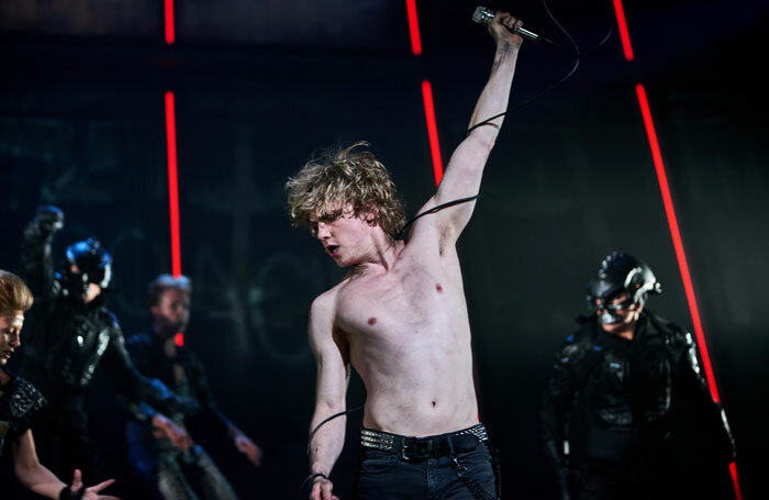 Andrew Polec as Strat in Bat Out of Hell. Photo: Specular