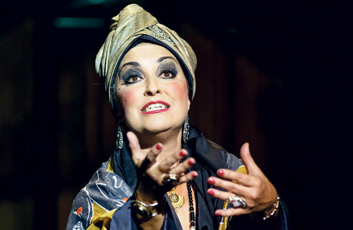 Ria Jones in the new  touring production of  Sunset Boulevard. Photo: Manuel Harlan