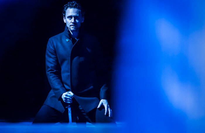 Tom Hiddleston in Hamlet at the Vanbrugh Theatre, London. Photo: Johan Persson
