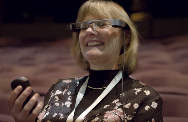 National Theatre launches 'transformational' captioning glasses for deaf audiences