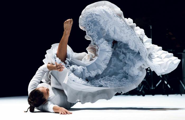 Rocio Molina in Fallen from Heaven. Photo: Djfrat