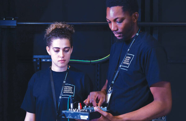 What apprenticeships are available in theatre?