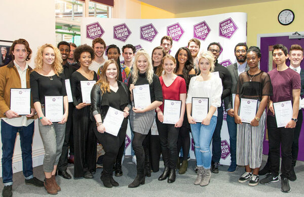Winners of £78k Laurence Olivier drama student bursaries announced