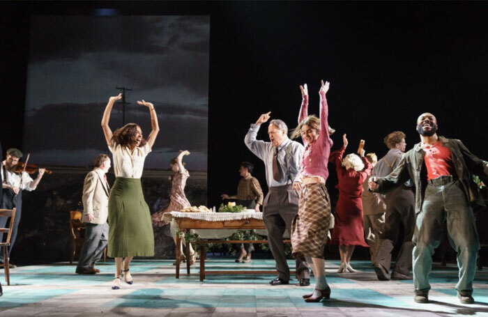 A scene from Girl From the North Country. Photo: Old Vic