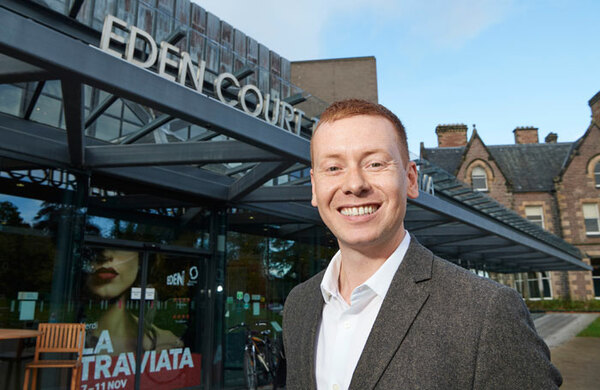 James Mackenzie-Blackman appointed chief executive at Eden Court