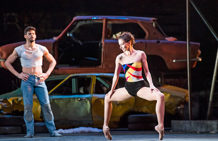 Thiago Soares and Lauren Cuthbertson in The Judas Tree at Royal Opera House, London. Photo: Tristram Kenton