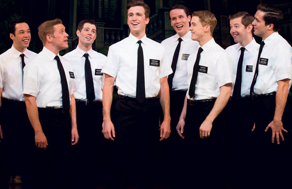 The Book of Mormon leads Acting for Others charity bucket collections