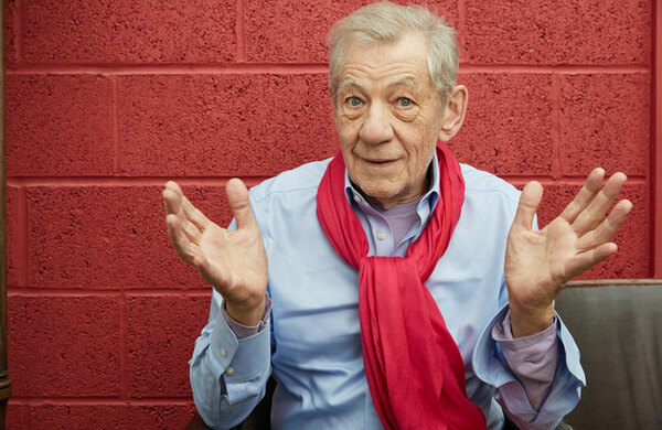 Ian McKellen project in the running for arts philanthropy prize