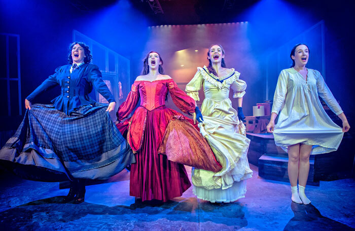 Little Women at Manchester's Hope Mill Theatre. Photo: Anthony Robling