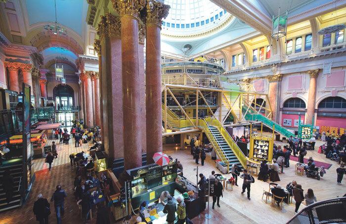 Manchester Royal Exchange interior