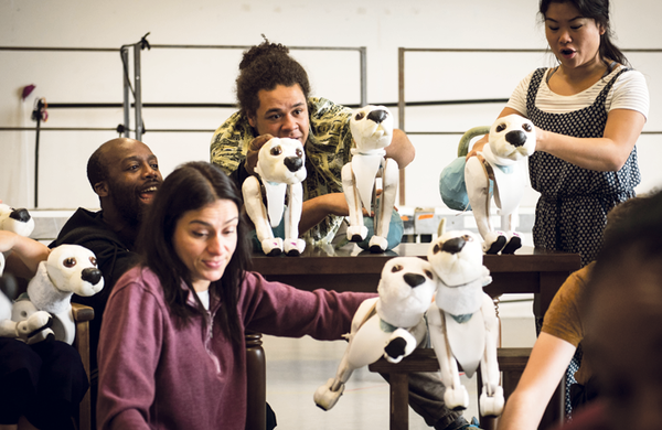 The Hundred and One Dalmatians: Birmingham Rep's dazzling feat of canine puppetry