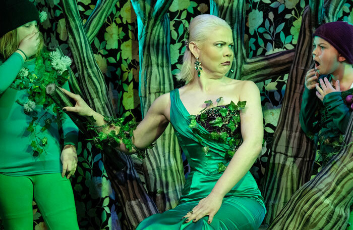 Erica Guyatt stands out from a solid cast as the deliciously evil Belladonna Bindweed. Photo: JoshTomalin
