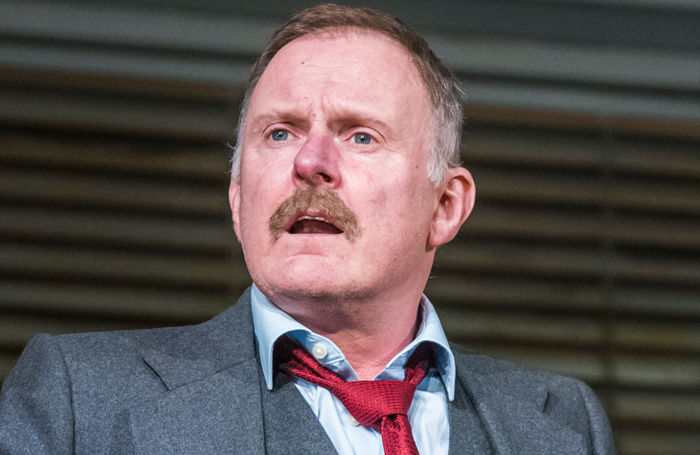Robert Glenister in Glengarry Glen Ross. Photo: Tristram Kenton