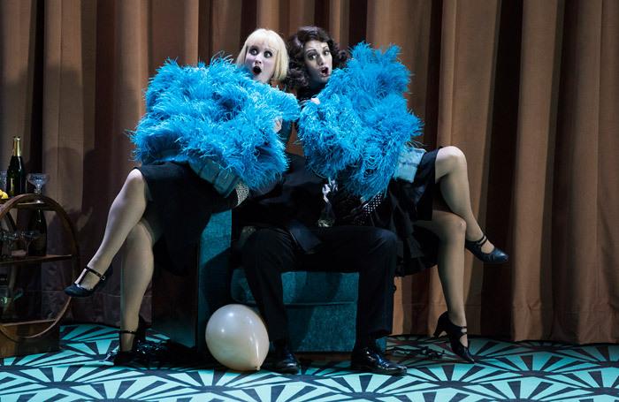 Kiandra Howarth and Heather Lowe in Cosi fan Tutte at Grand Opera House, Belfast