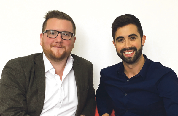 Selladoor founders on humble beginnings: 'I would drive the van and Phil would get up the ladders'