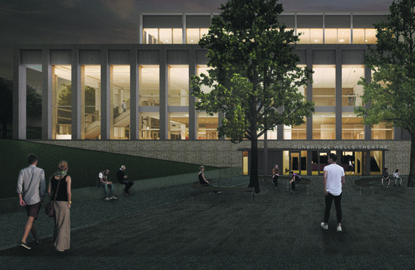 New £41m theatre for Kent given the green light