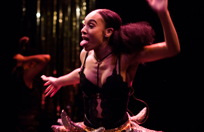 Lenai Russell in Rent Party at Crucible Studio. Photo: Sam Taylor