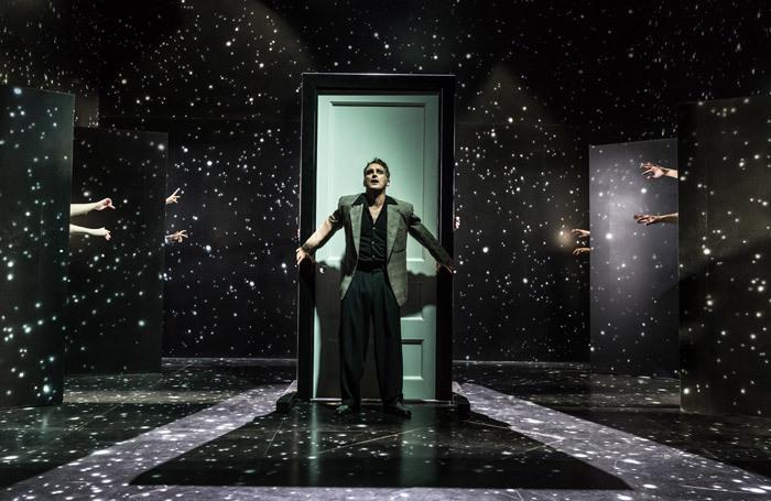 John Marquez in The Twilight Zone at Almeida Theatre, London. Photo: Marc Brenner