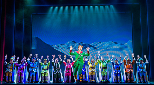 Elf - The Musical starring Ben Forster to be broadcast on Channel 5