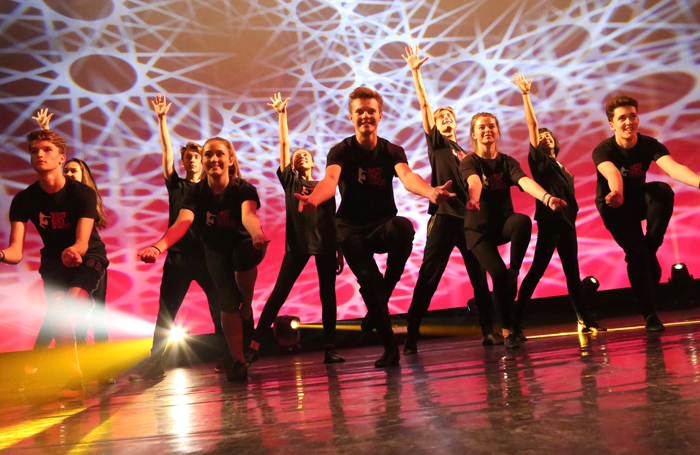 West End Stage students in performance