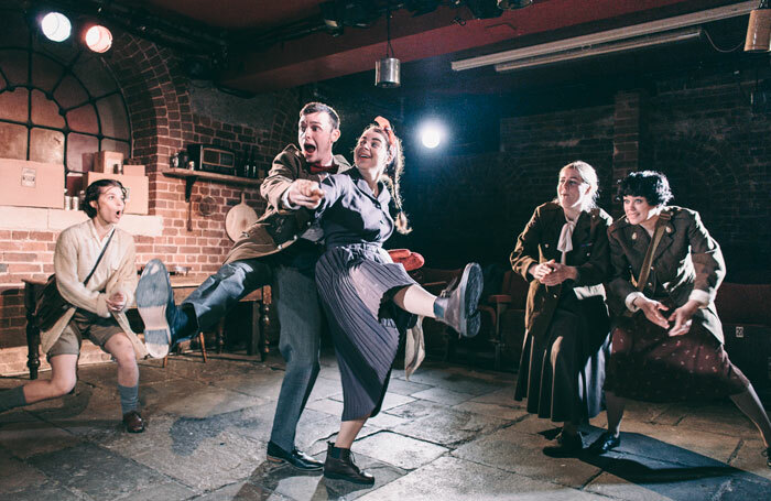 Eloise and the Curse of the Golden Whisk, pictured, a recent production at Exeter's Bike Shed Theatre. Photo: Maria Dragan