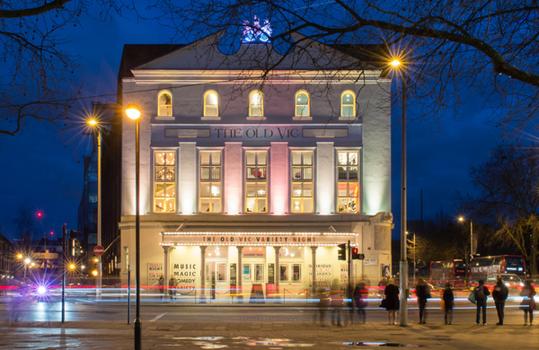Old Vic unveils ambitious revamp to 'secure future'